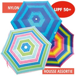 PARASOL NYLON ANTI UV 200 CM