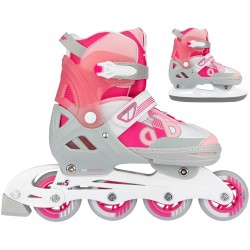 ROLLERS/PATINS A GLACE 2 EN 1 - BOLD BERRY