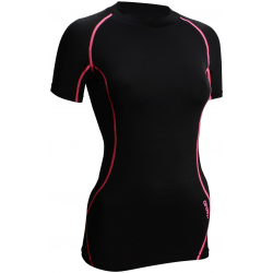 T-SHIRT COMPRESSION FEMME MC