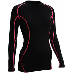 T-SHIRT COMPRESSION FEMME ML