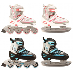 ROLLERS/PATINS A GLACE JUNIOR