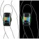 BRASSARD SMARTPHONE LED