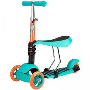 Trottinette 3 roues avec siège enfant