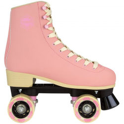 ROLLERS QUAD RETRO NUBUCK ROSE - 36 AU 37