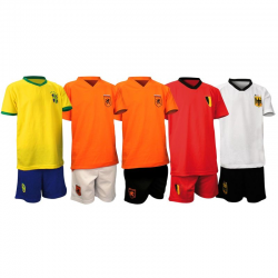 KIT MAILLOT + SHORT SUPPORTER ENFANT