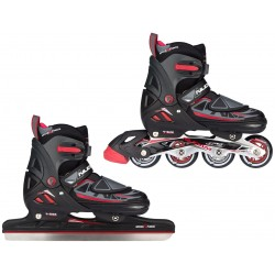 PATINS A GLACE/ROLLERS - ENFANT - N-FORCE I