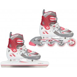 PATINS A GLACE/ROLLERS - ENFANT - N-FORCE II